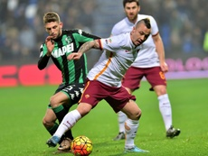 Berardi, une autre option pour Barcelone. AFP