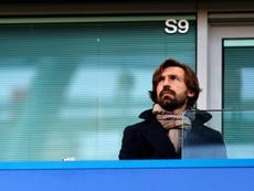 Andrea Pirlo atendió a la UEFA antes de su debut como entrenador en Champions. AFP/Archivo
