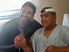 Filtran la llamada del médico de Maradona a emergencias. AFP