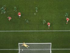 Este gol de Golovin provocó un parto prematuro. AFP