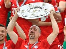 Ribéry dio por finalizada su etapa en Múnich. AFP