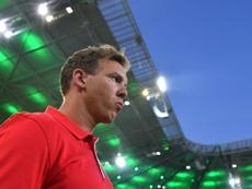 Julian Nagelsmann pide tiempo para lograr grandes cosas con el RB Leipzig. AFP/Archivo