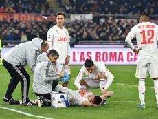 Demiral desfalca a Juventus por toda a temporada. AFP