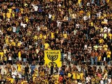 Les ultras du Beitar ont insulté les joueurs de l'Atlético. AFP
