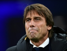 Antonio Conte is having problems in midfield. AFP