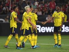 El Arsenal sigue apostando por jóvenes talentos. AFP