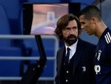 Cristiano no está en la convocatoria para medirse al Benevento. AFP