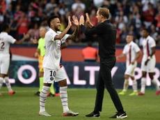 Neymar podrá jugar la tercera jornada de Champions. AFP