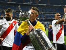 River venció a Boca en la 'Superfinal'. AFP