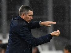 Les compos probables du match de Ligue 1 entre Strasbourg et Nîmes. AFP