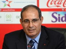 El marroquí defendió la portería del Mallorca. AFP