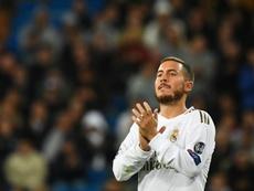 Hazard falou sobre a eliminação do Real Madrid. AFP