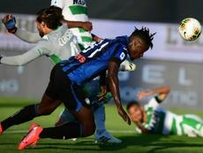 Le formazioni ufficiali di Atalanta-Sampdoria. AFP