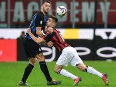 De Vrij es un fijo en el Inter. AFP