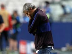 El Barça hará lo posible por reducir la indemnización. AFP
