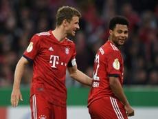 Gnabry réclame du respect pour Müller. AFP