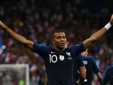 Mbappé's pacey run against Germany had fans purring. AFP