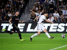 Zlatan podría abandonar LA Galaxy. AFP