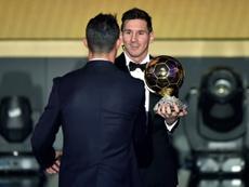 Messi ya ha ganado cinco Balones de Oro. AFP