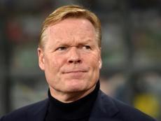 Koeman shuts down Barça rumours again. AFP