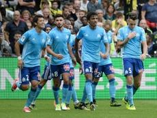 L'Olympique de Marseille reçoit Domzale ce jeudi. AFP