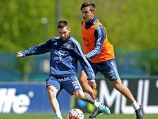 Messi refuse encore d'être convoqué avec l'Argentine. AFP