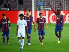 Las posibles alineaciones del Ferencvaros-Barcelona. AFP