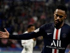 Neymar s'est exprimé après la victoire des siens. AFP