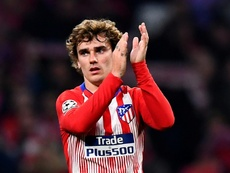 Griezmann's future is up in the air. AFP