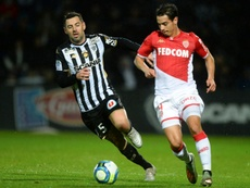 Les compos officielles du match de Ligue 1 entre Monaco et Angers. AFP