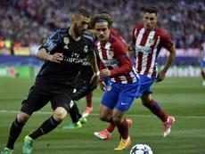 El Madrid fue el último rival que pisó el Calderón en Europa. AFP