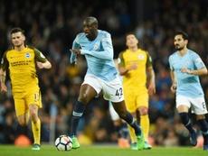 Touré could move to Cádiz. AFP