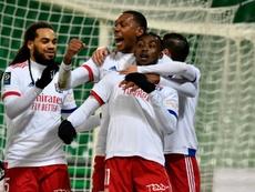 Lyon se reprend en surclassant Saint-Etienne. AFP