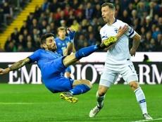 El Shaarawy y Piccini dejaron la concentración italiana por lesión. AFP