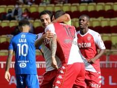 Monaco arrache la victoire à neuf contre onze contre Strasbourg. AFP
