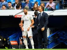 Benzema será titular. AFP