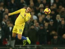 Madrid est proche d'Hazard et Chelsea tente d'éviter un départ. AFP