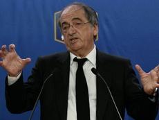 La déclaration du Président de la FFF sur le cas Benzema. afp
