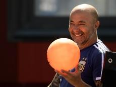 Sampaoli, nuevo entrenador de Santos. AFP