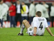 Para Owen, Zidane era o único que melhor que Gerrard. AFP