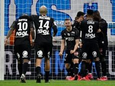 El Olympique ha dejado escapar un 2-0 en diez minutos. AFP