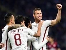 Roma vence Spal. AFP