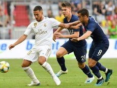 Hazard needs to shine at Real Madrid after a poor start to pre-season. AFP