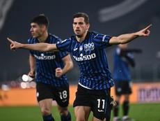 L'Atalanta continue sa bonne série et regarde vers Madrid. AFP