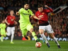 Barcelona are interested in Lindelöf. AFP