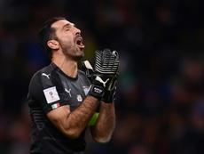 Buffon à la Coupe du monde. AFP