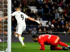 O Real recebeu e venceu o Alavés. AFP