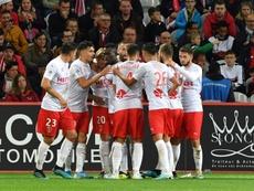 Nîmes signe l'attaquant sénégalais Moussa Koné. EFE