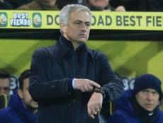 Mourinho criticó los errores defensivos. AFP