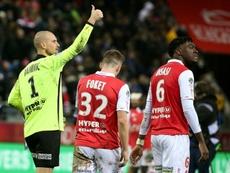 El Mónaco, a la caza del prometedor zaguero del Stade de Reims. AFP